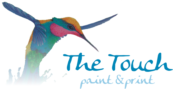 Logo The Touch Paint & Print